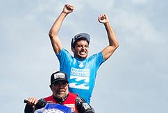 Джереми Флорес выиграл этап Billabong Pro Tahiti 2015
