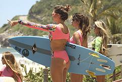 Сёрф-девушки из Рио