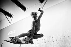 Батут и серфинг, что может быть общего?