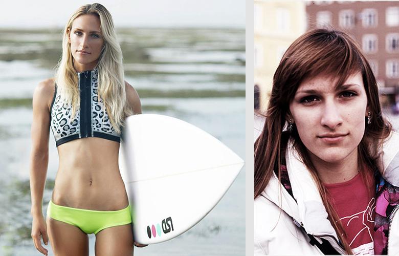 Ирина Кособукина - одна из самых известных, ярких и успешных русских сёрферш.