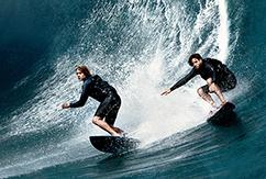 Ремейк «На гребне волны»: как проходили съёмки