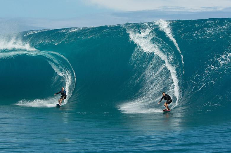 Смертельный фрирайд, отсутствие страховки и тридцатиметровые волны