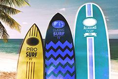 Какой объем сёрф-борда подходит вам?