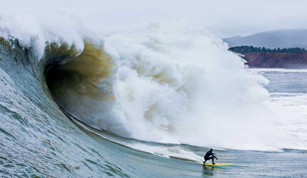 Кол Кристенсен: Маверикс для меня имеет особое значение из-за людей, которые здесь обитают. Каждый, кто сёрфит здесь, обладает энергичностью и любовью к волнам.