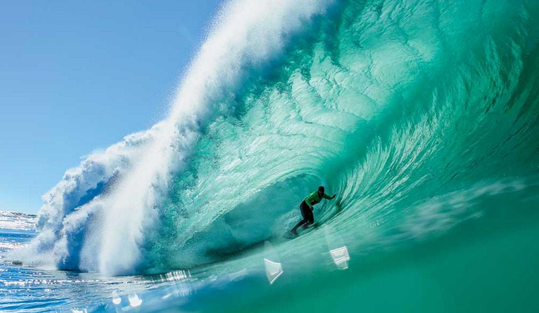 Если одни брейки стабильно поднимают хорошие волны несмотря на направление свелла, приливы и отливы, то на других приходится поработать, чтобы прокатиться-  Ник фон Рупп.