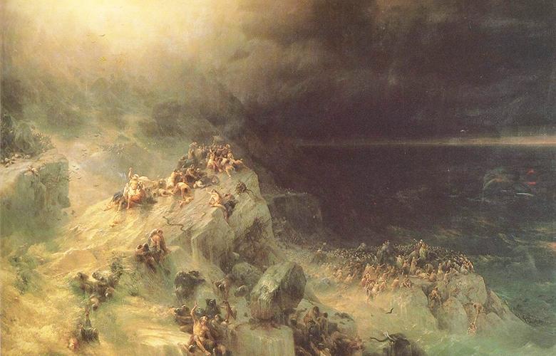 И. К. Айвазовский. Всемирный потоп