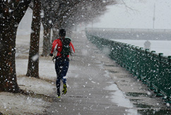 Зимние пробежки в свое удовольствие