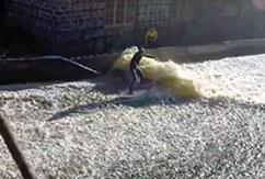 Шведские сёрферы построили искусственный брейк