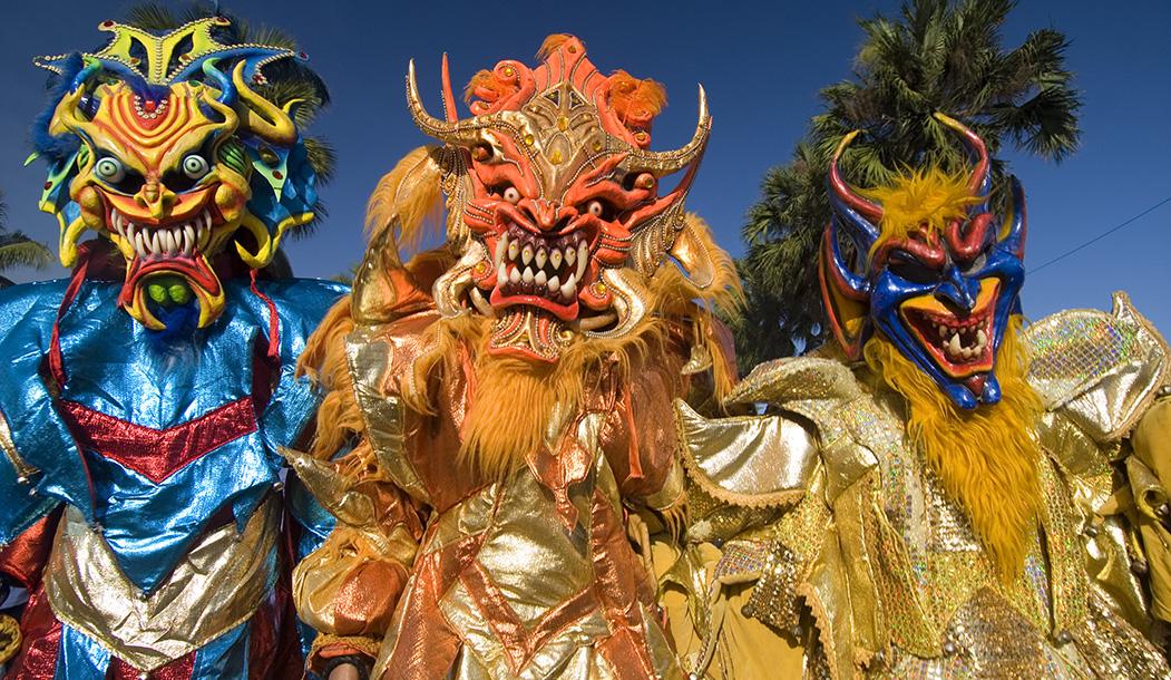 Карнавал в Санто-Доминго