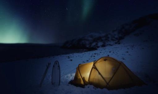 Surf in Siberia Arctic ocean 5