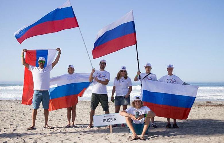 Сборная России на  ISA WORLD JUNIORS