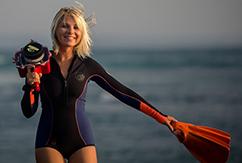 Изящество момента и серфинг