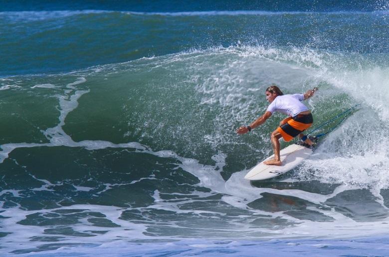 Каждое мое движение связано с серфингом!